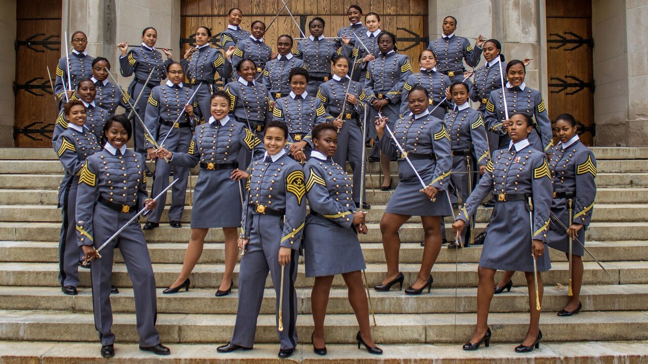West Point is about to graduate its largest class of black women