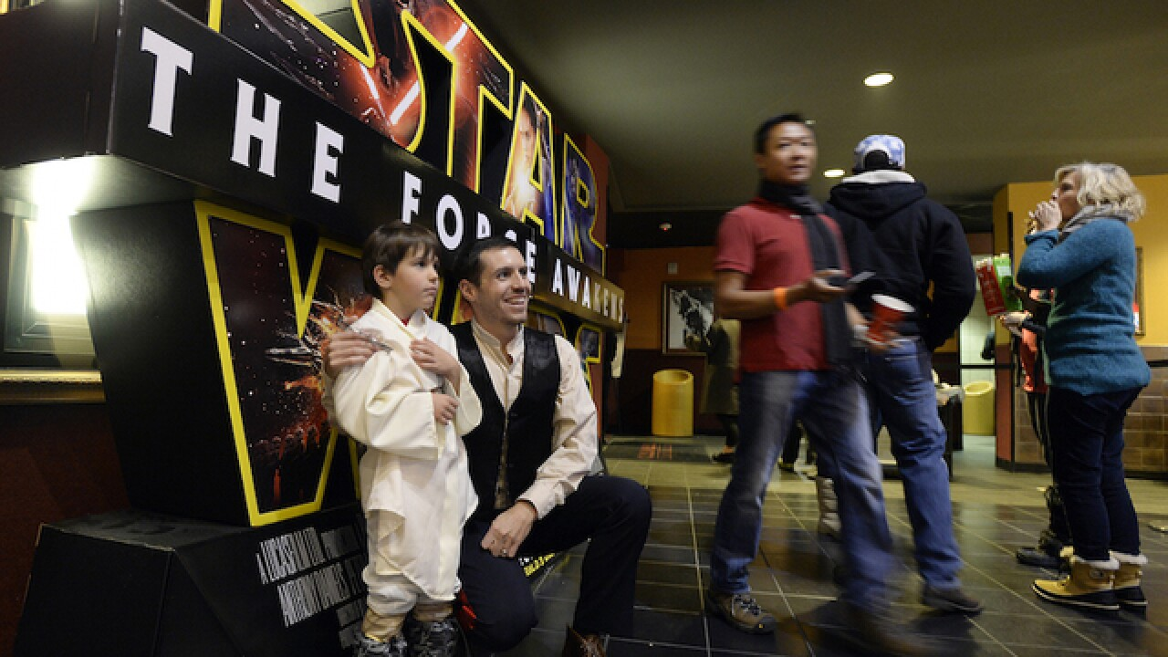 'Force Awakens' opening pulls in record $57M