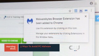 Tech Tuesdays: 3 Ways To Avoid PCMalware