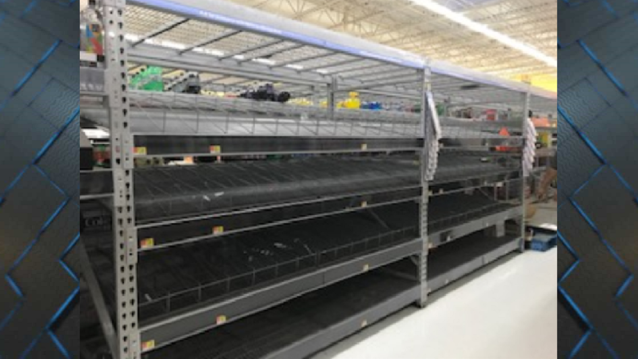 People in Big Bend preparing for the storm - 2