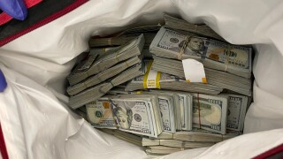 Cash found and booked, Santa Barbara Police grand theft