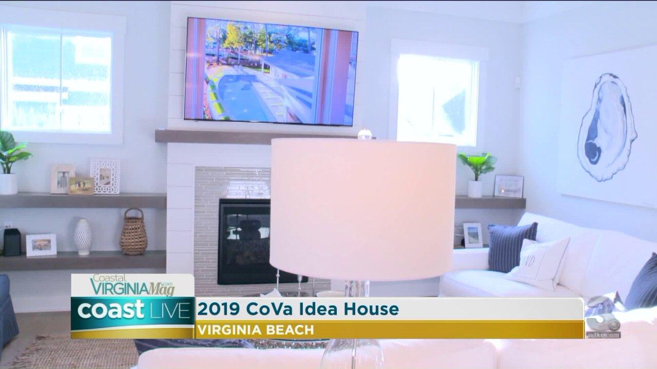 Taking a tour of the 2019 CoVa Magazine IdeaHouse
