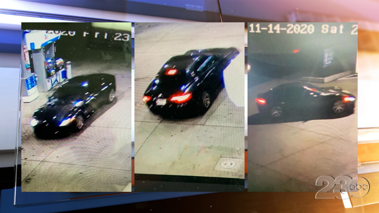 23rd St Hit and Run Suspect Vehicle