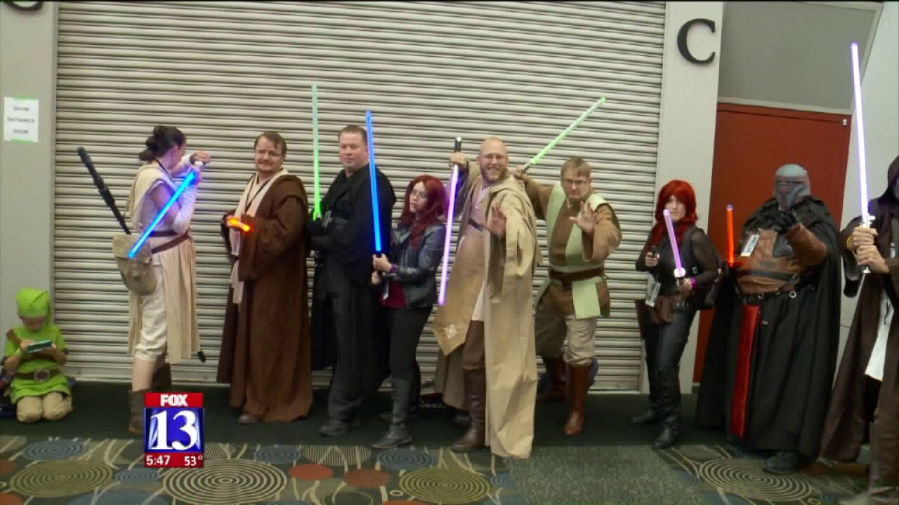Salt Lake Comic Con brings out the nerdy best in Utahns