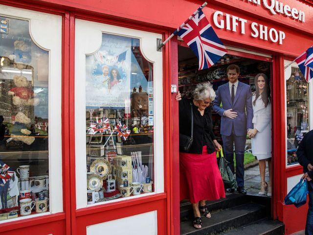 Photos: Preparations for the royal wedding of Prince Harry and Meghan Markle