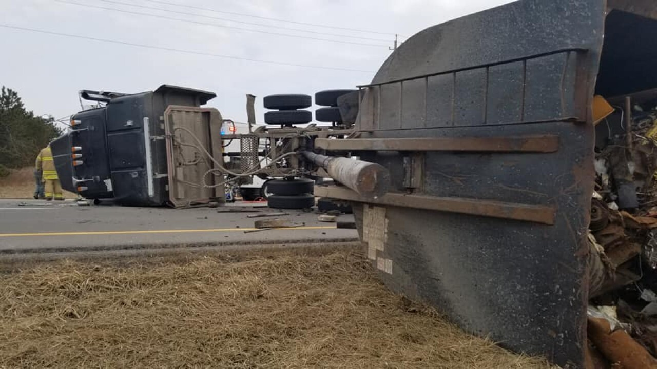 Rt. 179 tractor trailer crash
