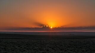 Sunrise from Hanover, Colorado