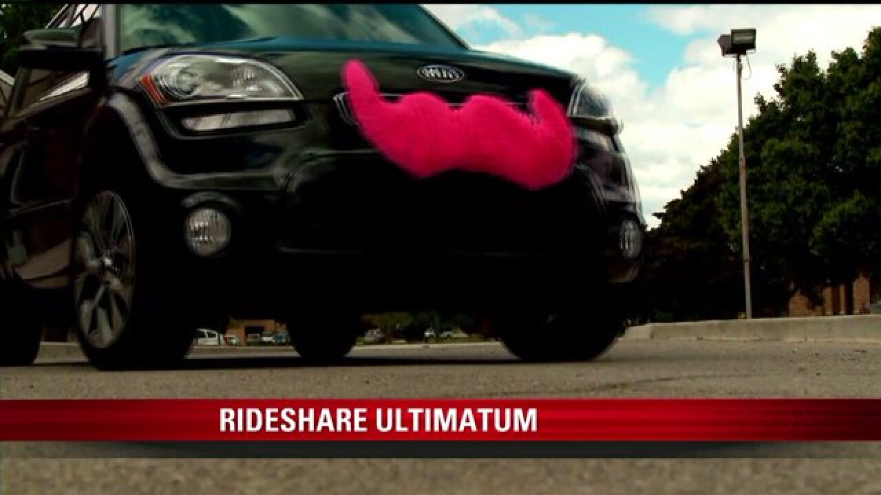 Rideshare services threaten to leave SLC over possible change inregulations