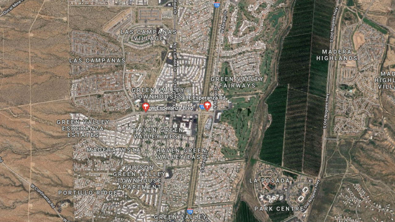 Map Of Arizona Freeway Shootings.Woman Killed Man And Child Hurt During Shooting On I 19