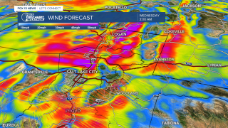 Wind Forecast April 13