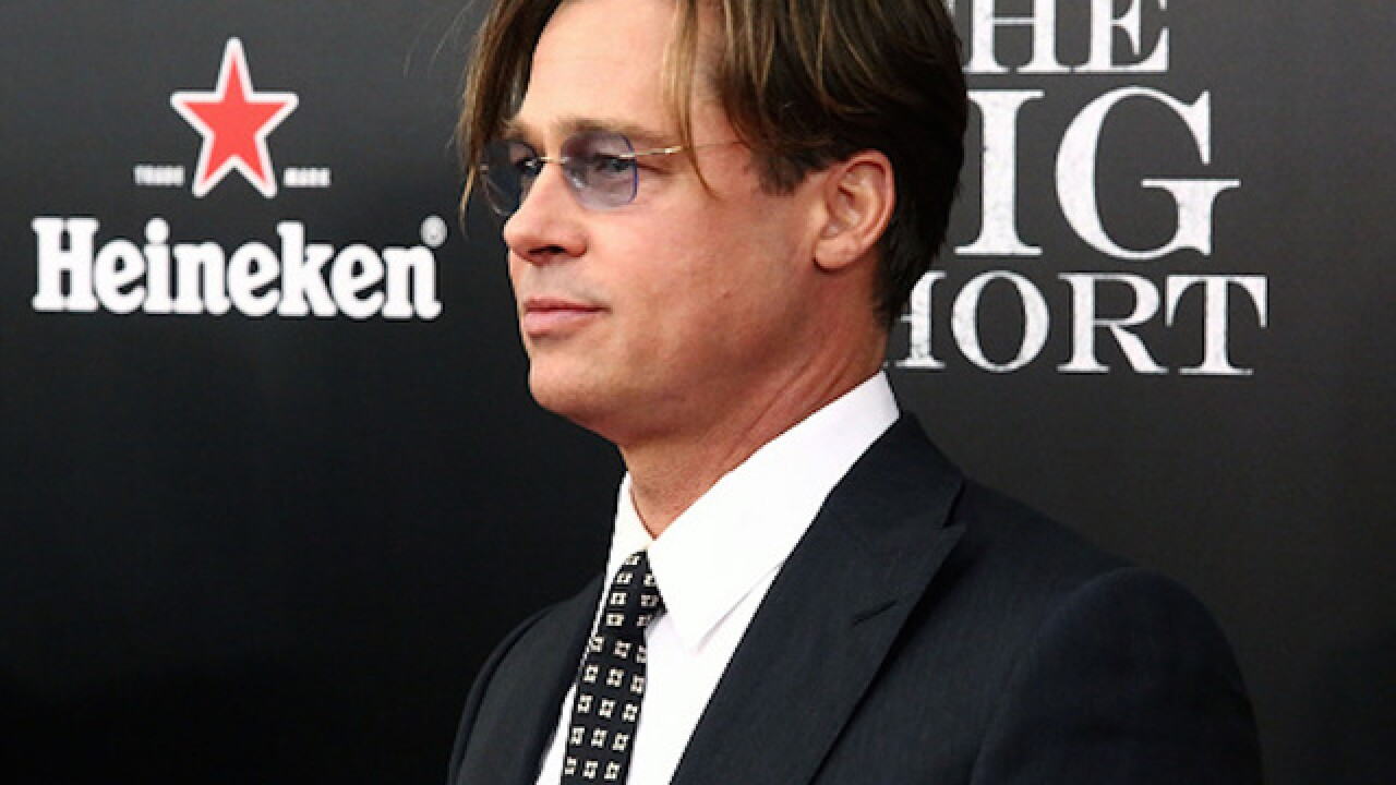 Brad Pitt back in China after reported ban over Tibet film