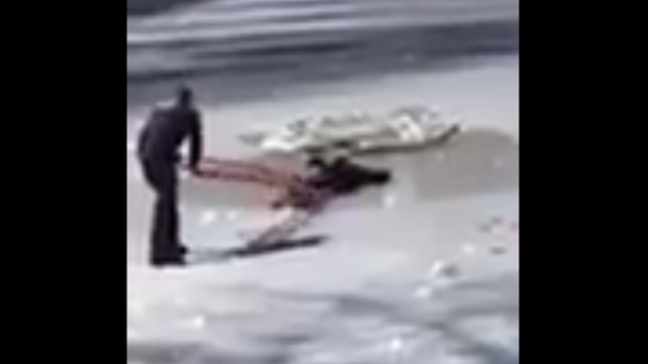 Video shows NYPD officers saving teen from frozen Central Park pond