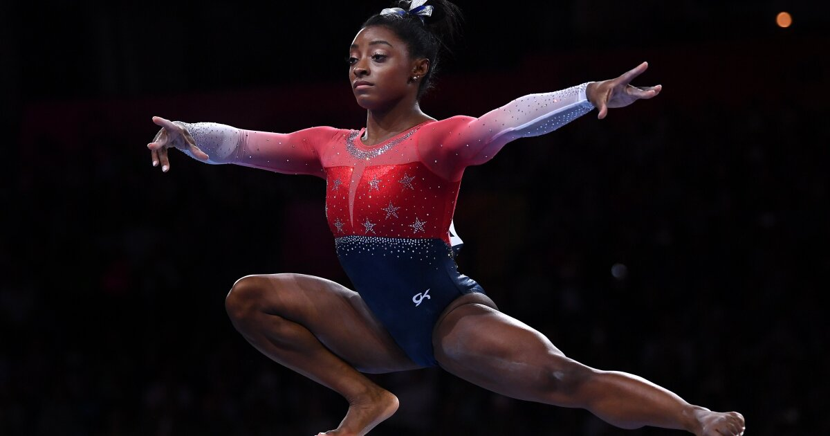 Simone Biles now most decorated female gymnast in history