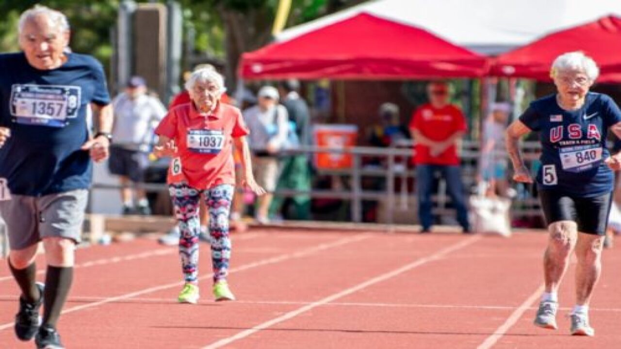 Runner Julia 'Hurricane' Hawkins Is 103 Years Old And Still Breaking Records