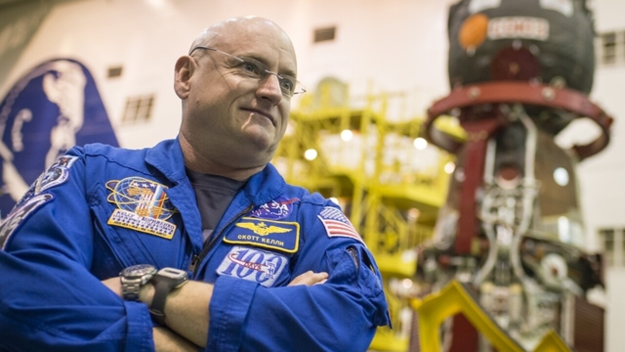 Astronaut 2 inches taller after year in space