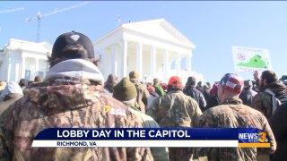 """Lobby Day attendee recalls the """"peacefulness"""" experienced among thoserallying"""