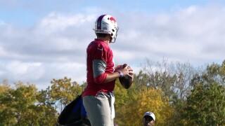 Josh Allen Practice