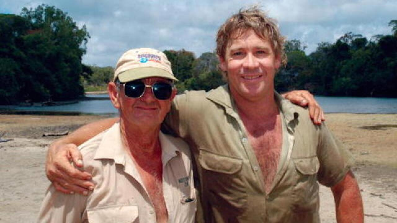 Read Steve Irwin's touching lost letter to his 'Mum & Dad'