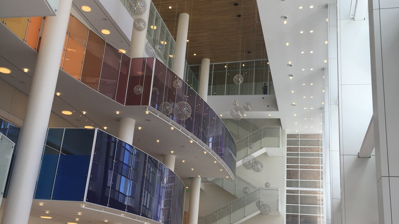 The new Eccles Theater has to install a 'Zion Ceiling' to comply with Utah liquorlaws