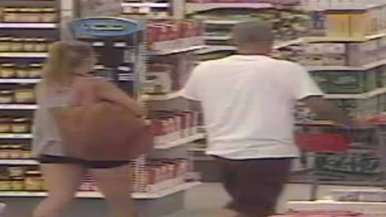 Police search for alleged cosmetics theives
