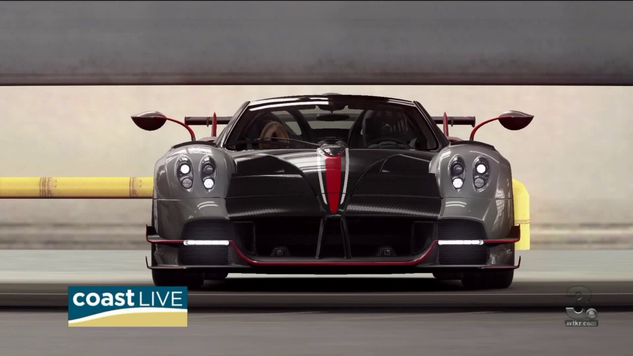 Making history by showcasing a hot new hypercar for real roads in a video game on CoastLive