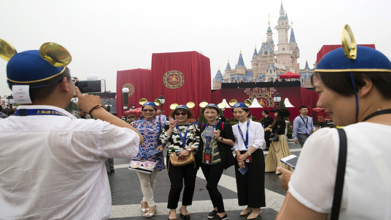 New Disneyland opens in China