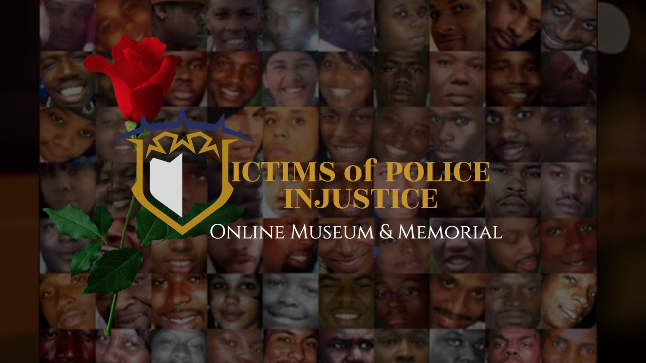 Victims of Police Injustice memorial website.png
