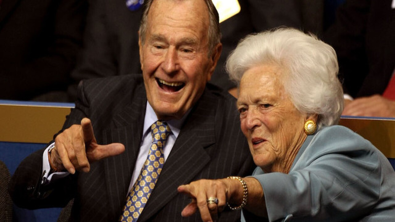 George H.W. Bush, wife Barbara hospitalized