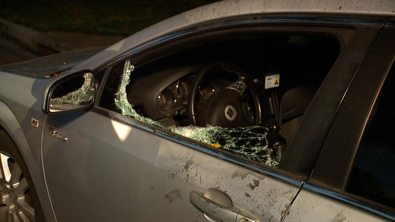 East Tampa vehicle smash-and-grab