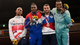 GB boxer Whittaker now regrets not wearing silver medal at ceremony