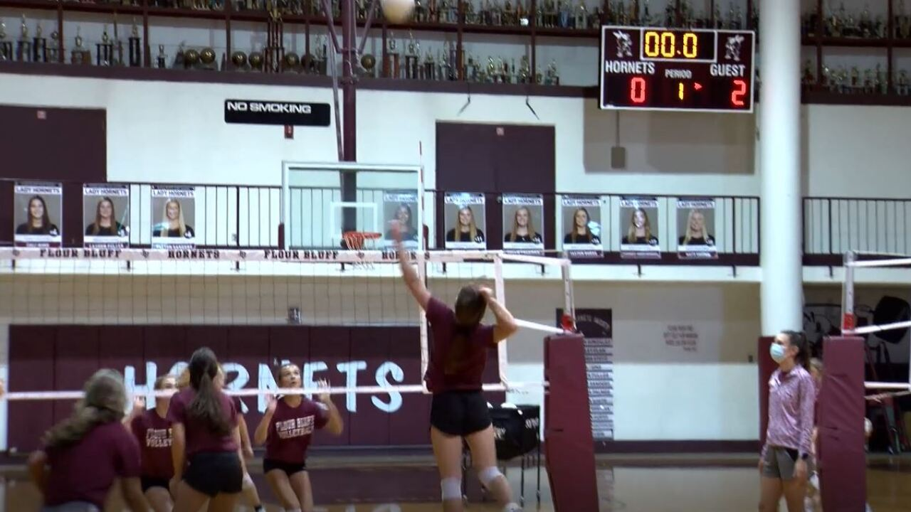 Flour Bluff Lady Hornets volleyball team on path to perfect regular season