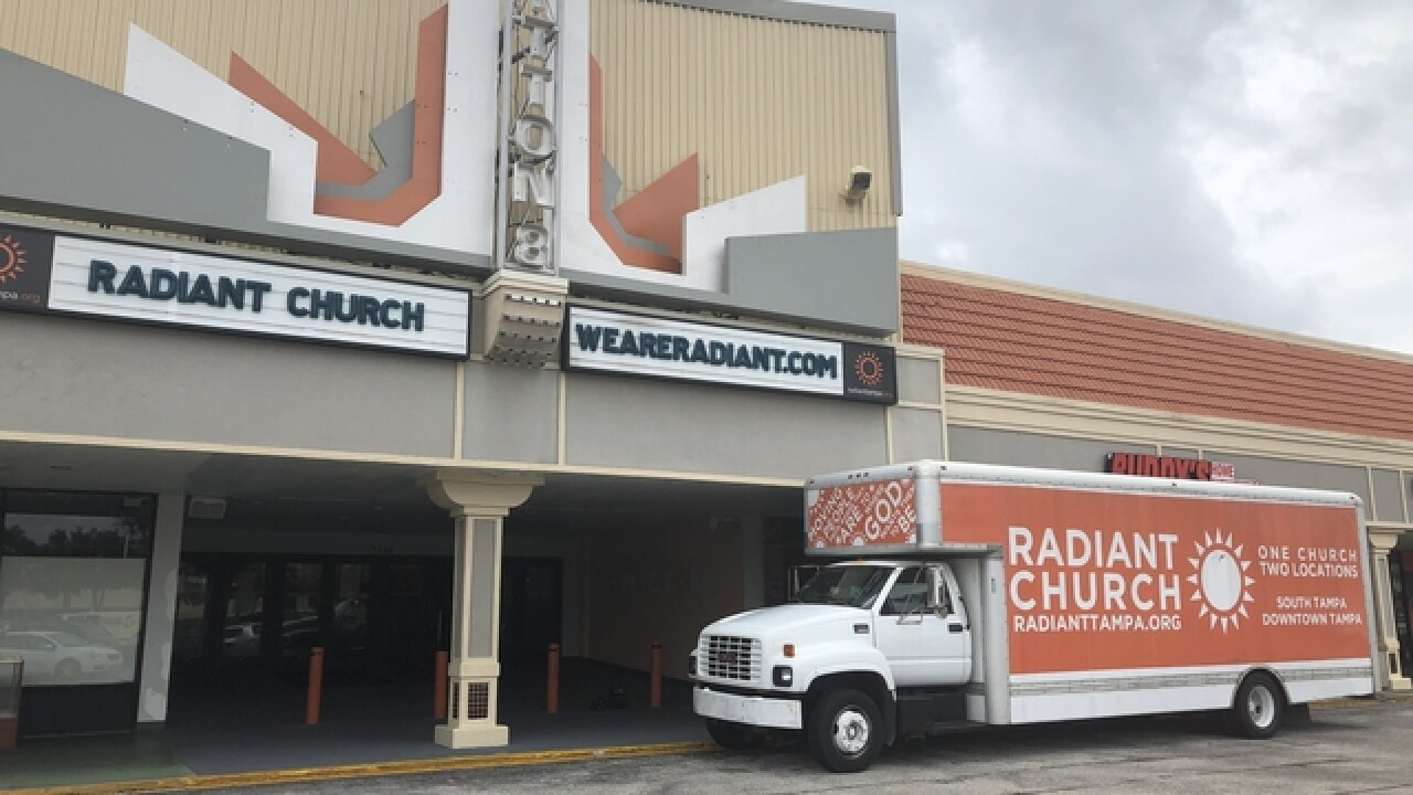 Tampa church collecting donations for victims