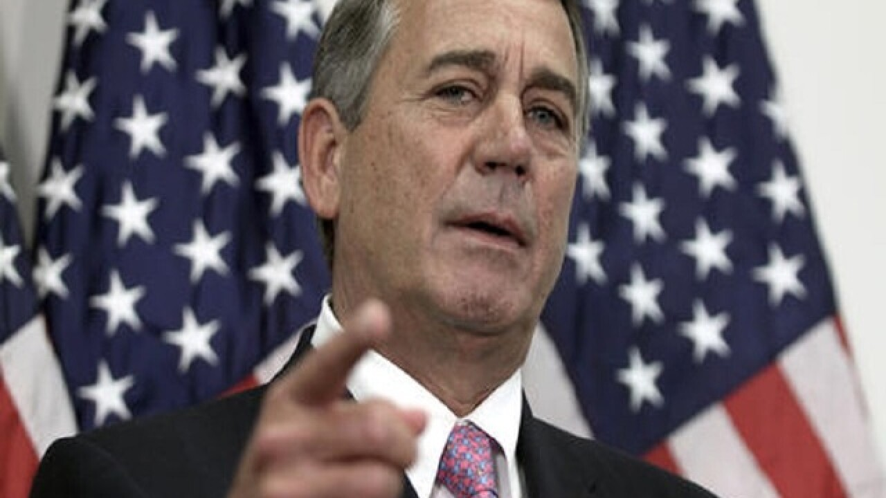 Former House Speaker John Boehner joins cigarette company's board of directors