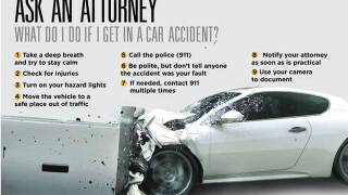 What do I do if I get in a car accident?