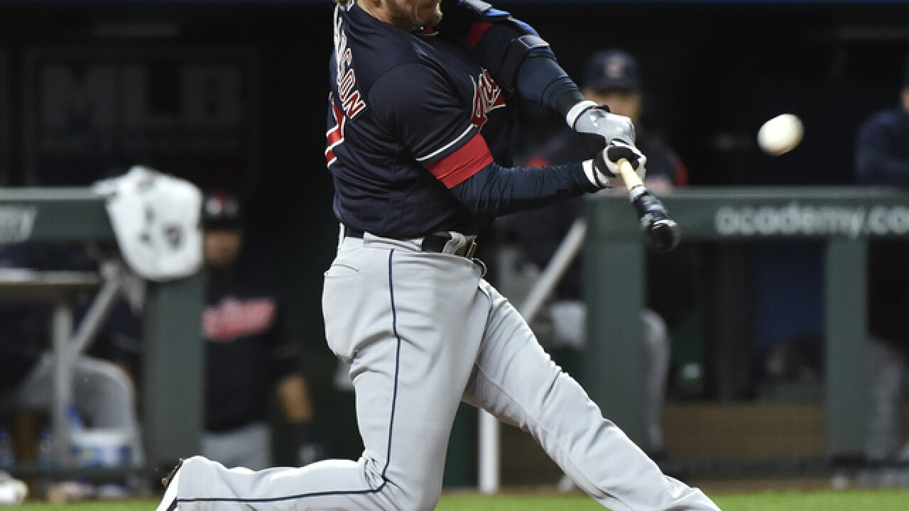 Donaldson powers 10-run inning, Indians beat Royals 14-6