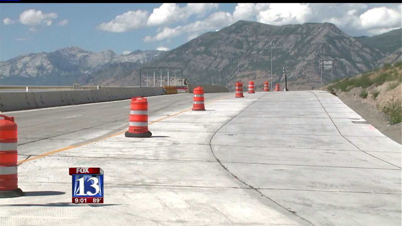 I-15 interchange closures in effect for Orem