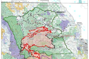 Cameron Peak Fire map Sept 29 2020