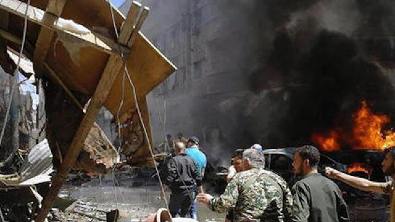 Airstrikes kill 25 in opposition area near Syrian capital