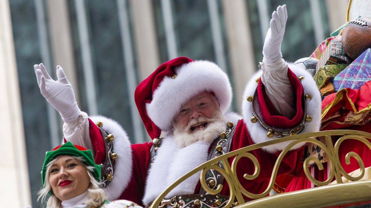 Santa Claus won't be coming to Macy's this year, breaking nearly 160-year-long tradition