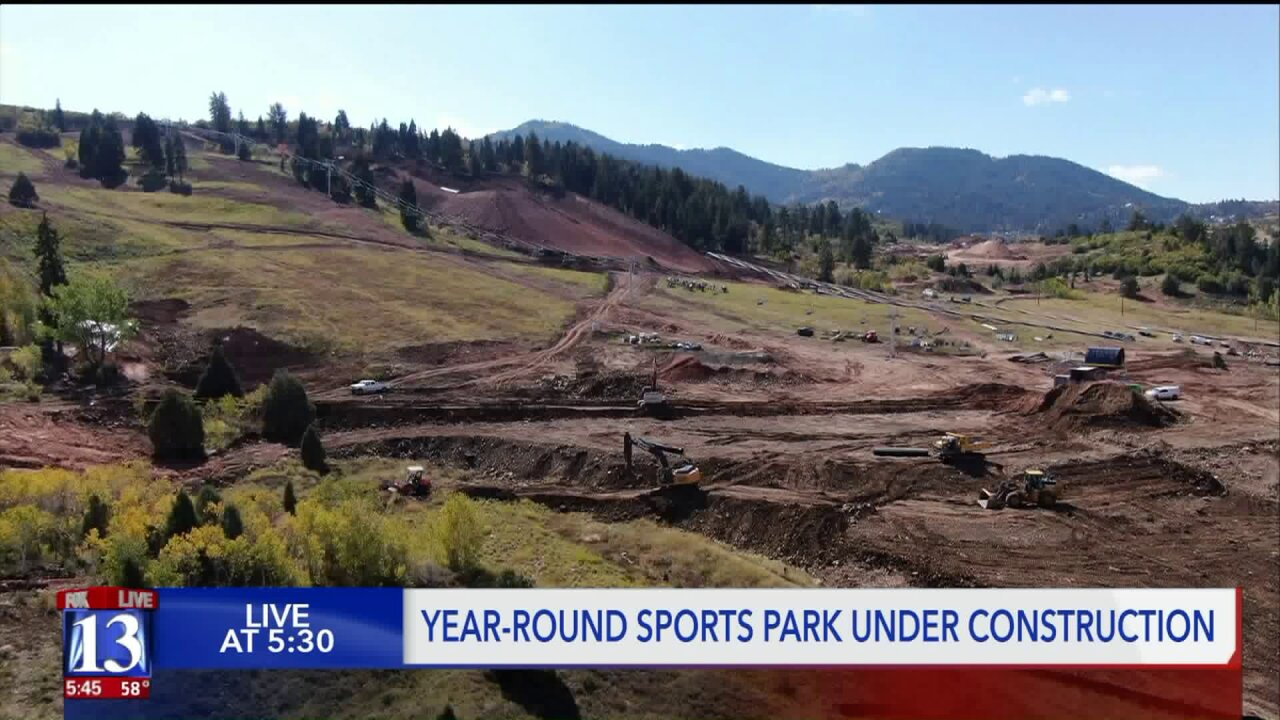 A look inside Utah's new world-class action sports and skiresort