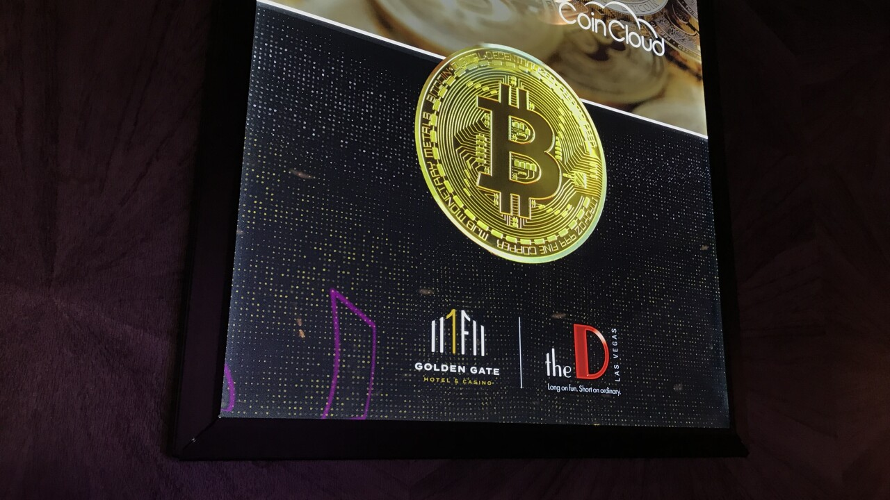 The D Hotel and Casino located in Downtown Las Vegas has a Bitcoin teller machine (BTM) which allows people to purchase the cryptocurrency.