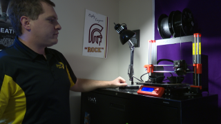 Helena teachers use 3D printers to create masks for healthcare workers