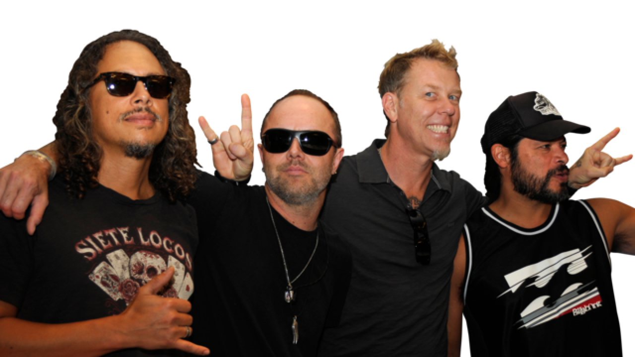 Metallica bringing world tour to Las Vegas in November