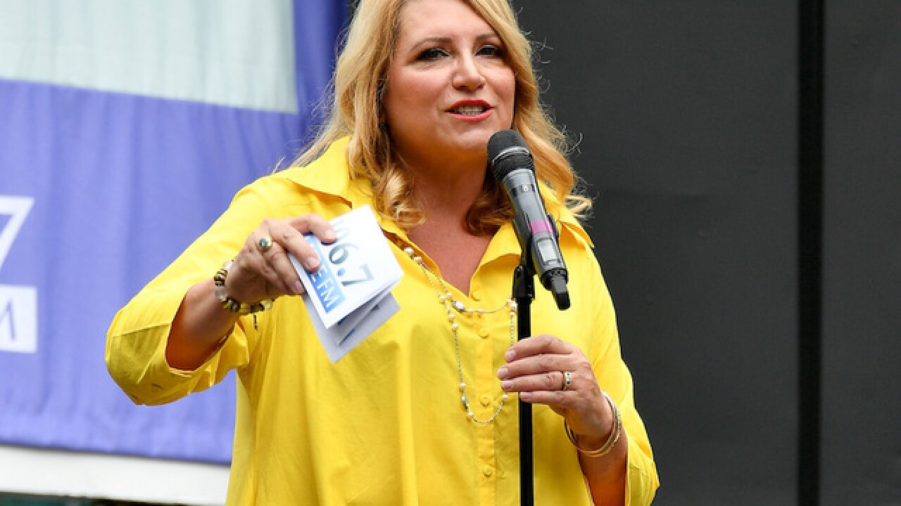 Radio host Delilah taking a leave from her show following son's suicide