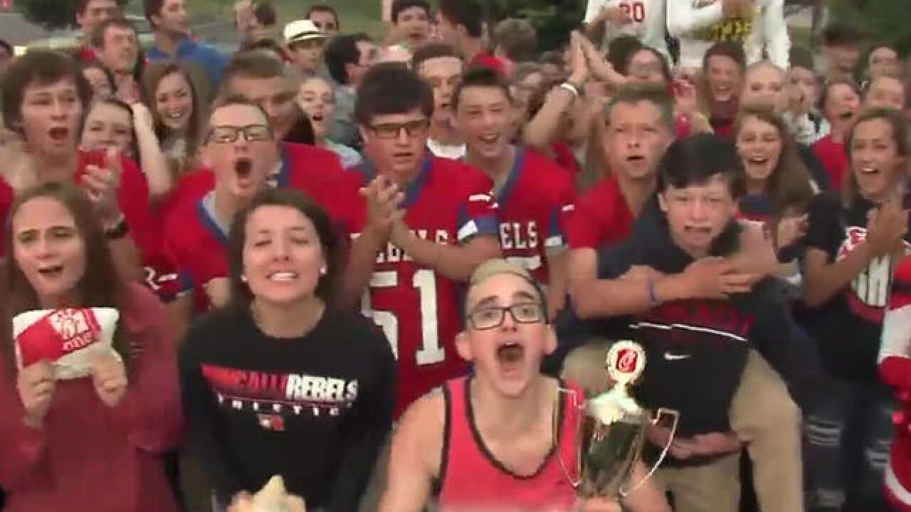 VIDEO: Roncalli HS pumped for tonight's game