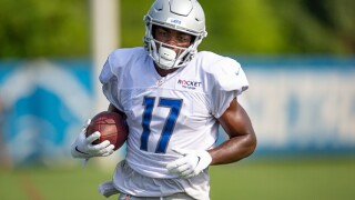 Lions release WR Andy Jones from Injured Reserve