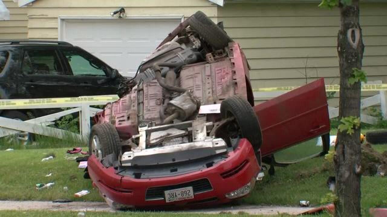 Suspected drunk driver causes Sheboygan crashes