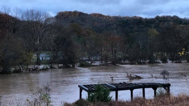 PHOTOS: Heavy Rains Cause Flooding In The Mid-State