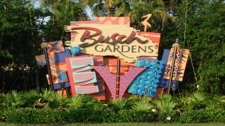 Busch Gardens sign