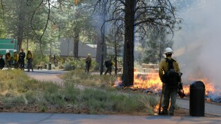 Wildfires Getting Ready